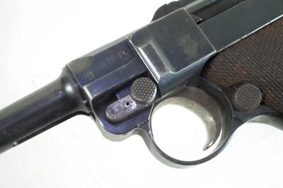 Lot 30 - Deactivated Luger 9mm semi-automatic pistol