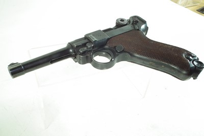 Lot 32 - Deactivated Luger WWII P08 9mm semi-automatic pistol