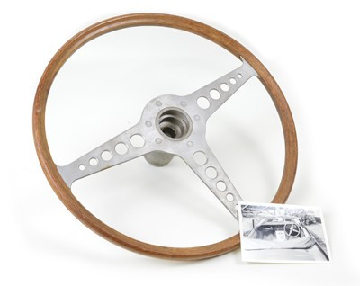 Lot 105 - Jaguar E Type Steering Wheel