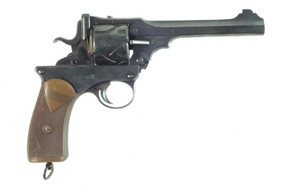 Lot Deactivated Webley Fosbery .455 semi-automatic revolver