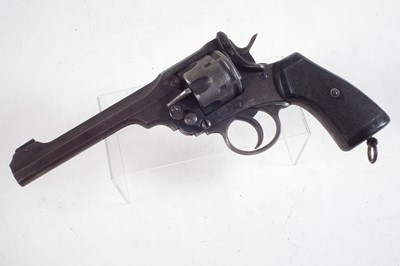Lot 37 - Deactivated Webley MkVI .455 service revolver