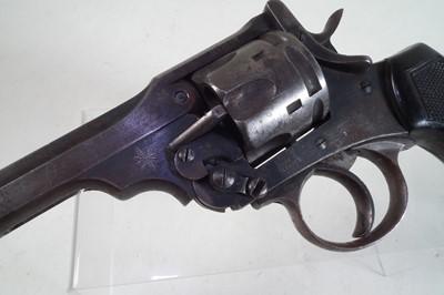 Lot 40 - Deactivated Webley MkVI .455 service revolver