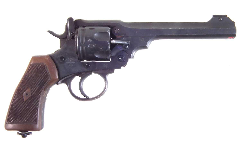 Lot 41 - Deactivated Enfield MkVI .455 service revolver