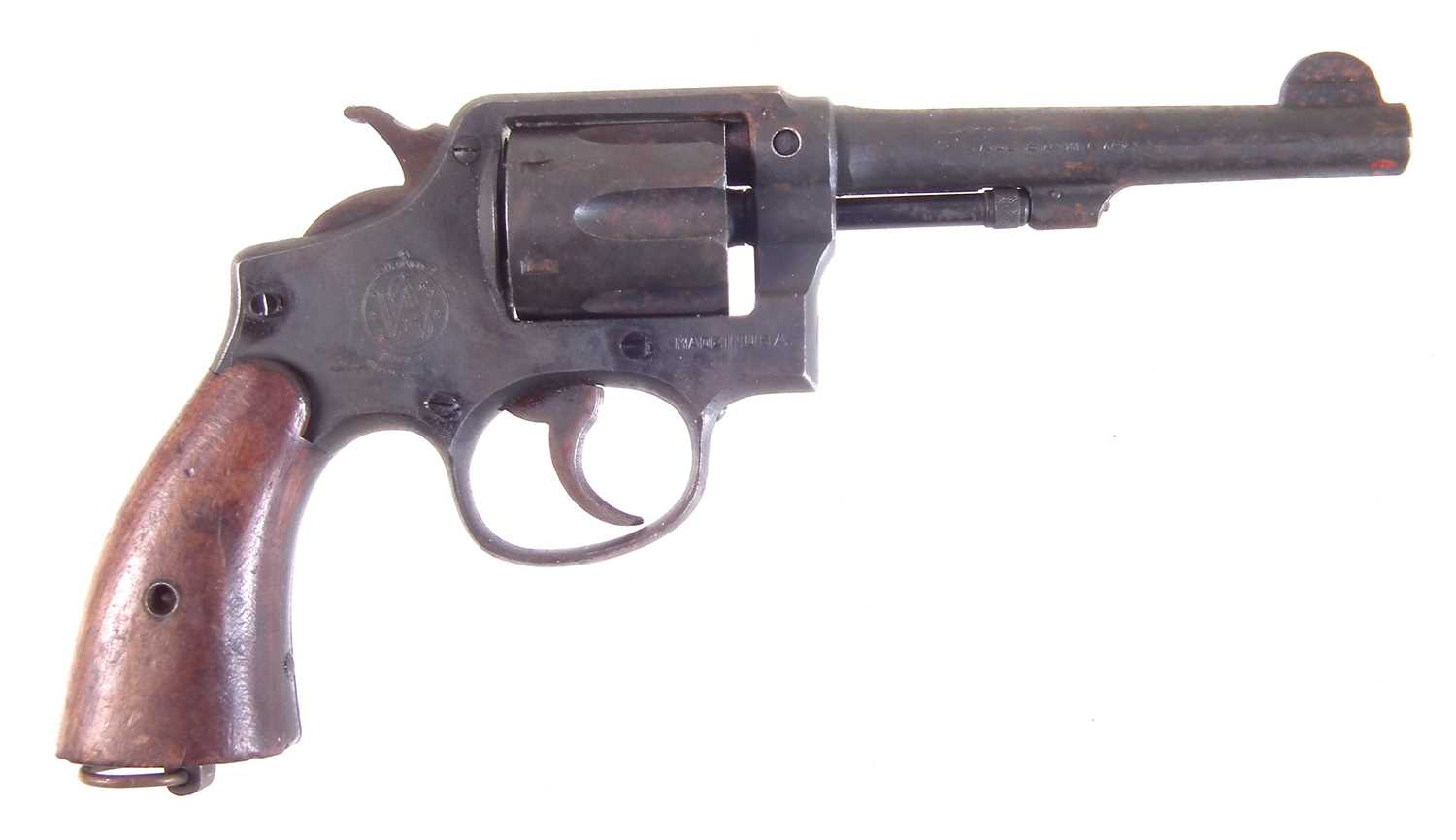 Lot 43 - Deactivated Smith and Wesson .38 Revolver
