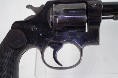Lot Deactivated Colt New Service .455 revolver