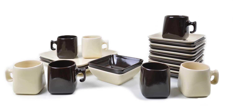Lot Nanna Ditzel Tea Set made for Søholm Keramic