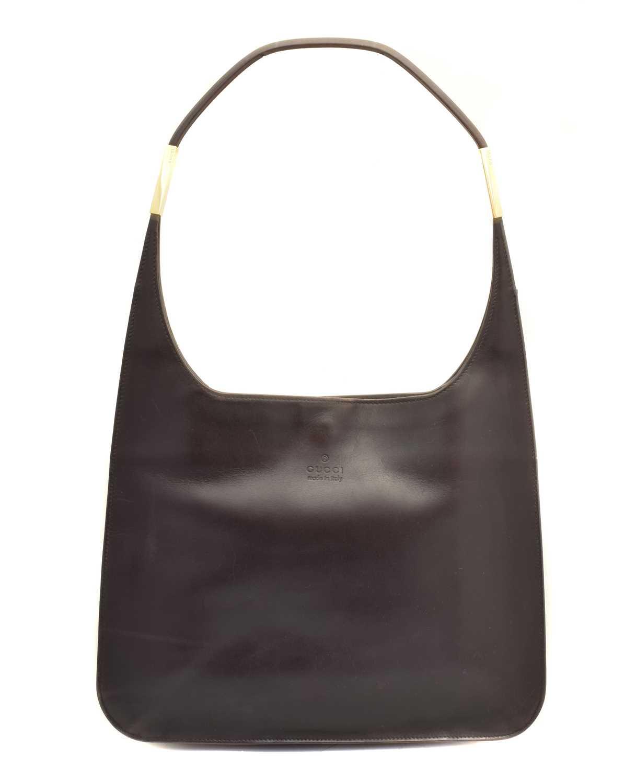 Lot 152 - A Gucci Vintage Shoulder Bag