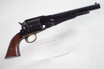 Lot 24 - Uberti .44 Model 1858 Remington black powder revolver serial number 54961
