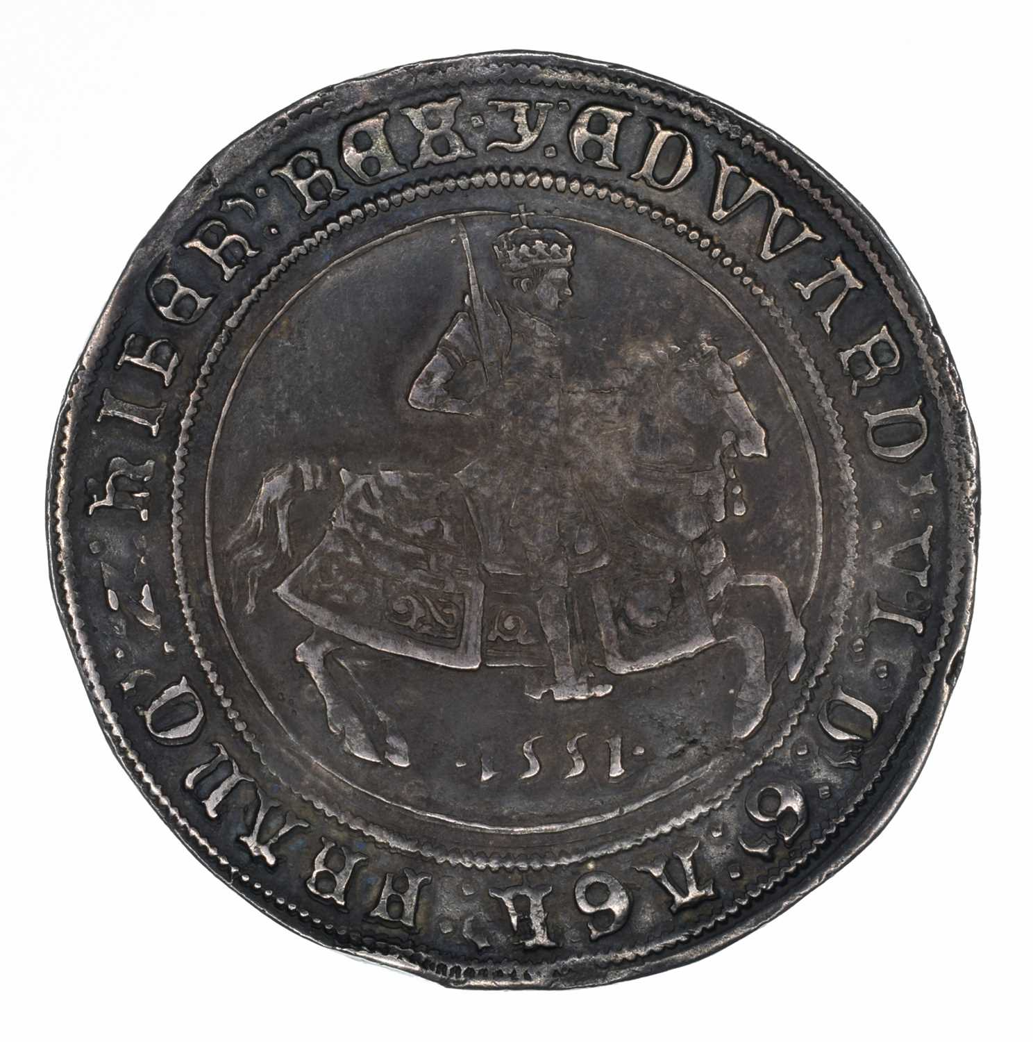Lot 4 - King Edward VI, Crown, 1551.