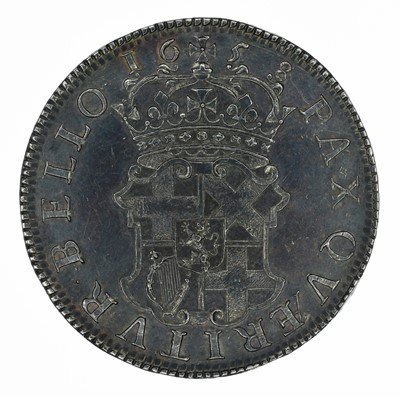 Lot 10 - Oliver Cromwell, Crown, 1658/7.
