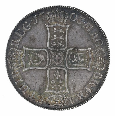Lot 26 - Queen Anne, Crown, VIGO 1703.