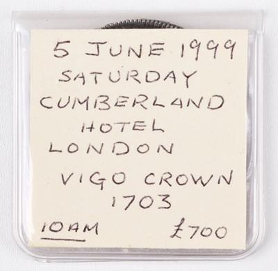 Lot 26 - Queen Anne, Crown, VIGO 1703.