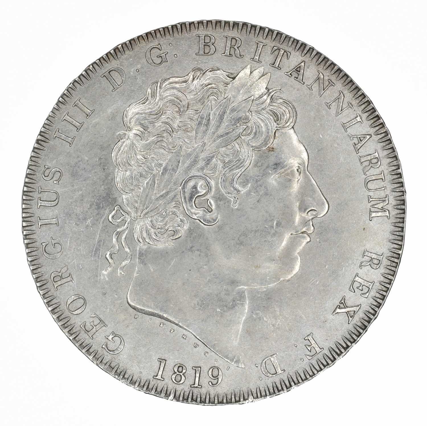Lot 53 - King George III, Crown, 1819 LIX.