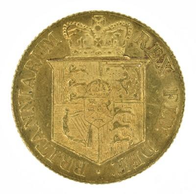 Lot 52 - King George III, Half-Sovereign, 1817.