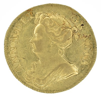 Lot 31 - Queen Anne, Guinea, 1714.