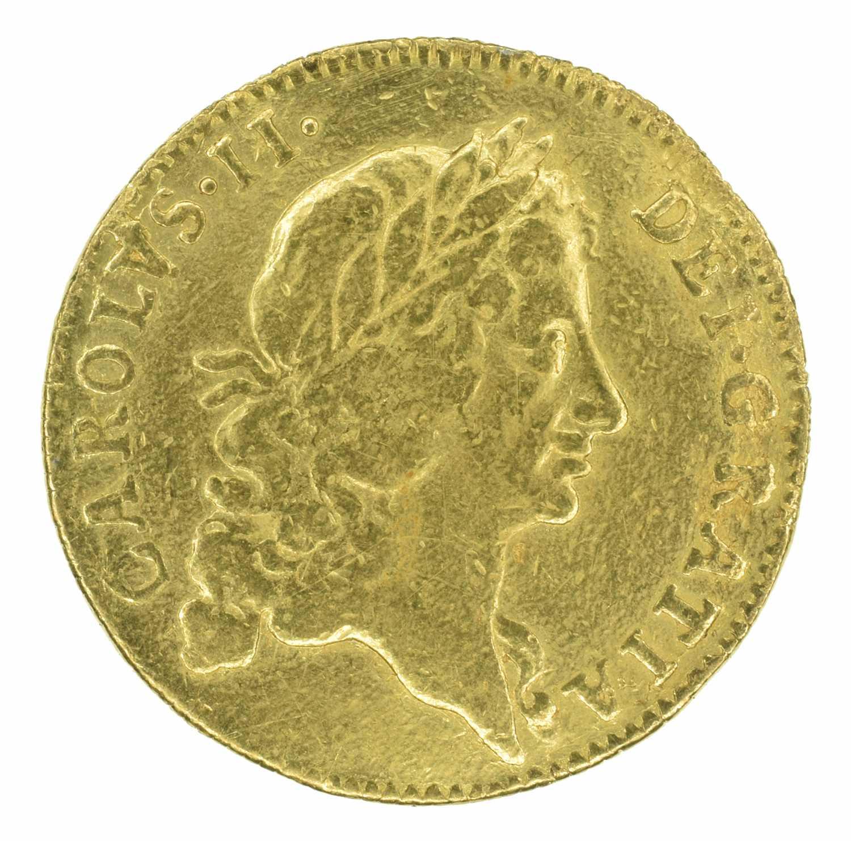 Lot 11 - King Charles II, Guinea, 1668.