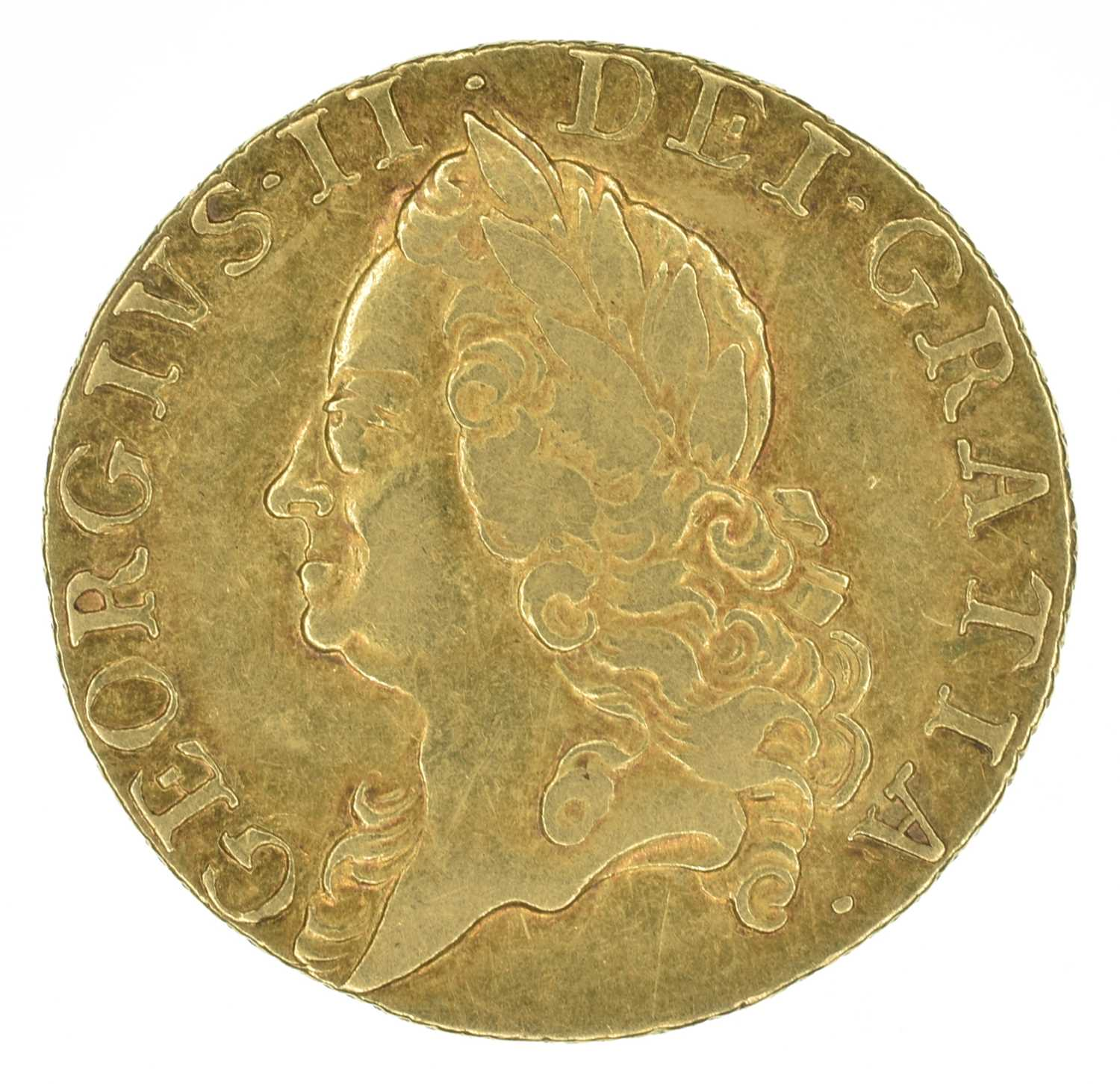 Lot 42 - King George II, Guinea, 1760.