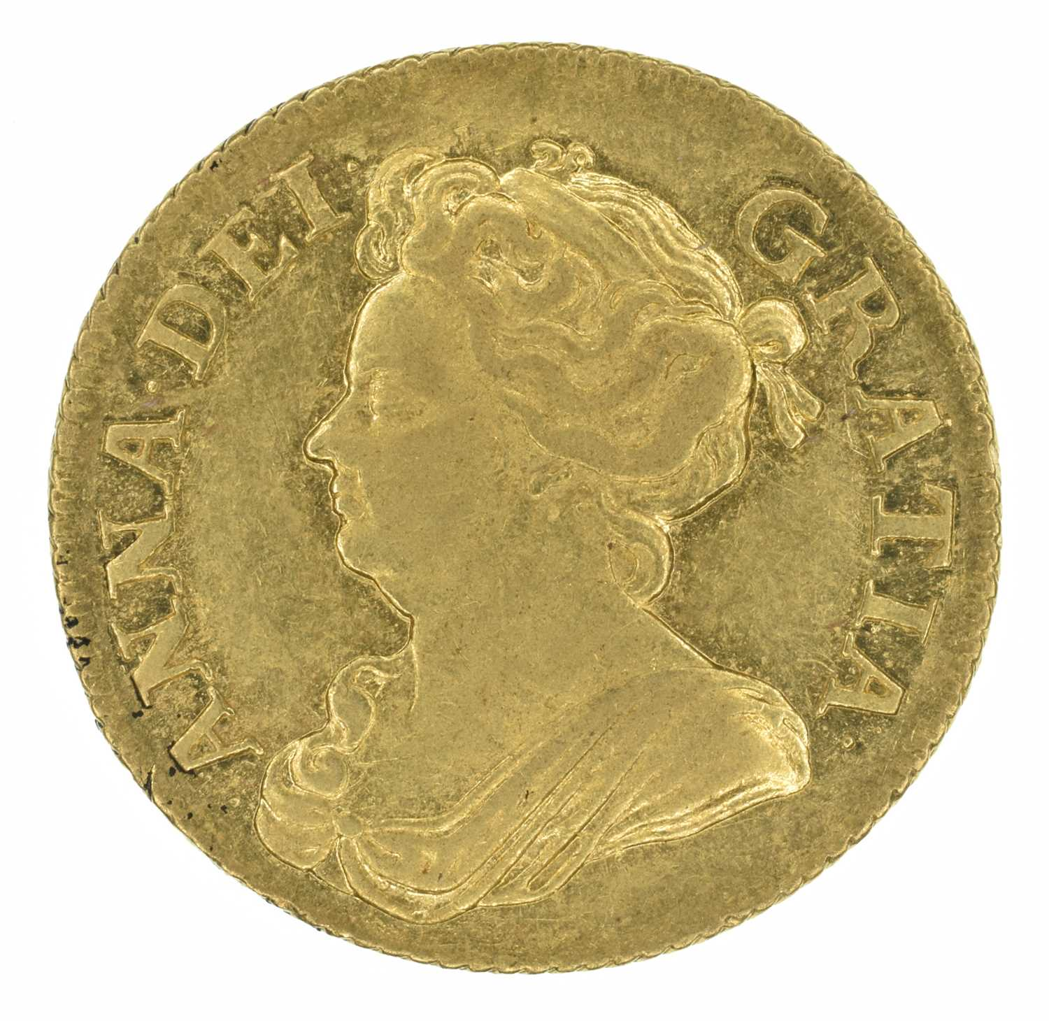 Lot 29 - Queen Anne, Guinea, 1708.