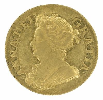 Lot 29 - Queen Anne, Guinea, 1708.
