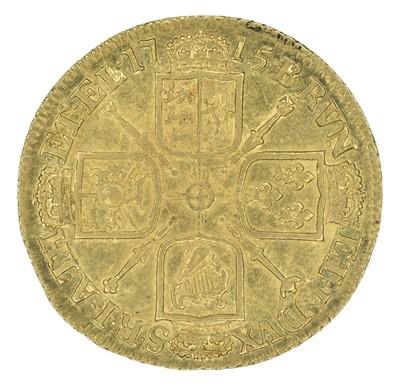 Lot 32 - King George I, Guinea, 1715.