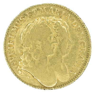 Lot 17 - William and Mary, Guinea, 1689.