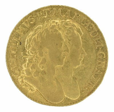 Lot 20 - William and Mary, Guinea, 1694/3.