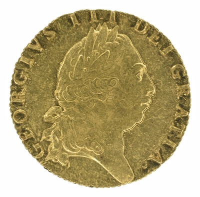 Lot 49 - King George III, Guinea, 1793.