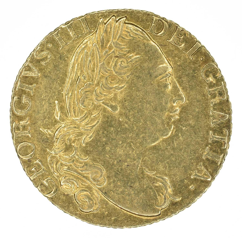 Lot 46 - King George III, Guinea, 1785.
