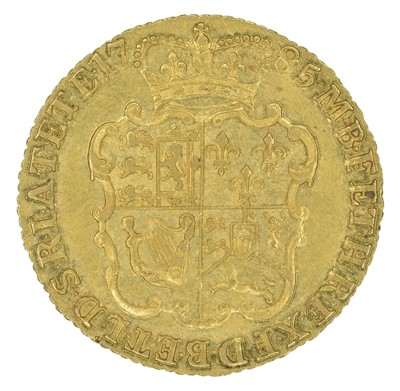 Lot 47 - King George III, Guinea, 1785.