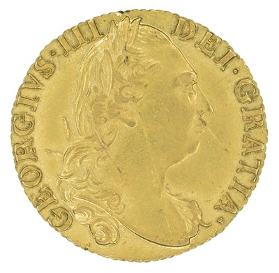 Lot 47 - King George III, Guinea, 1785.