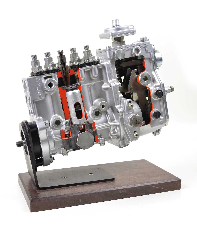 Lot Bosch Diesel Cutaway Fuel Injection Pump.