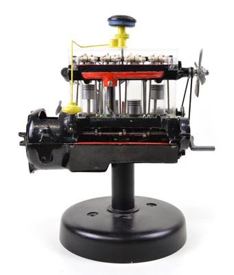 Lot 125 - Demonstration Model of a Four-cylinder Motor