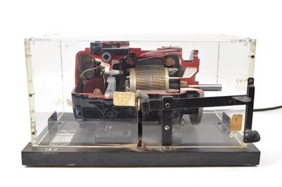 Lot 126 - Cutaway Model of an AC Motor