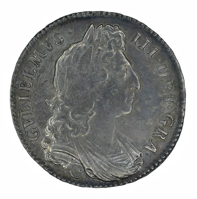 Lot 22 - King William III, Halfcrown, 1696 OCTAVO, C (Chester).