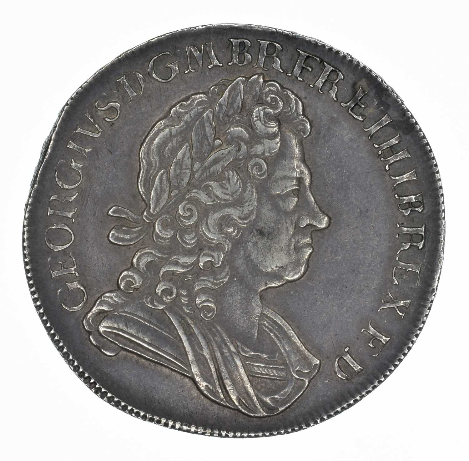 Lot 37 - King George I, Crown, 1726 D. TERTIO.