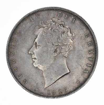 Lot 58 - King George IV, Halfcrown, 1826.