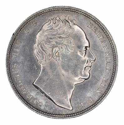 Lot 59 - King William IV, Halfcrown, 1834.