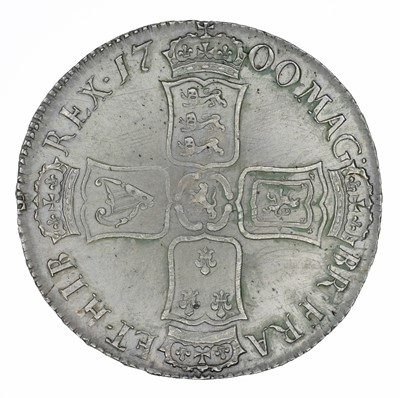 Lot 24 - King William III, Crown, 1700 DVODECIMO.