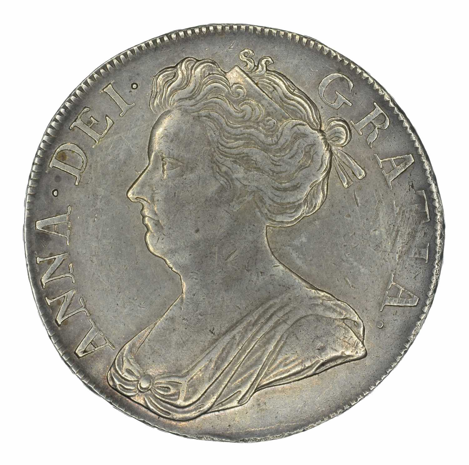 Lot 27 - Queen Anne, Crown, 1707 SEPTIMO.