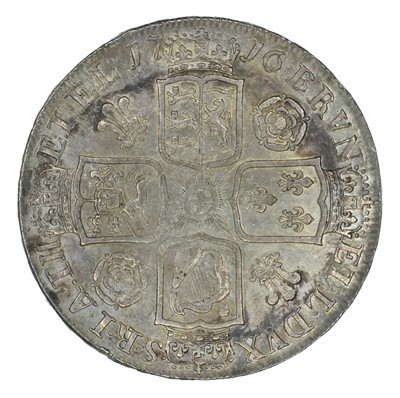 Lot 33 - King George I, Crown, 1716 SECVNDO.