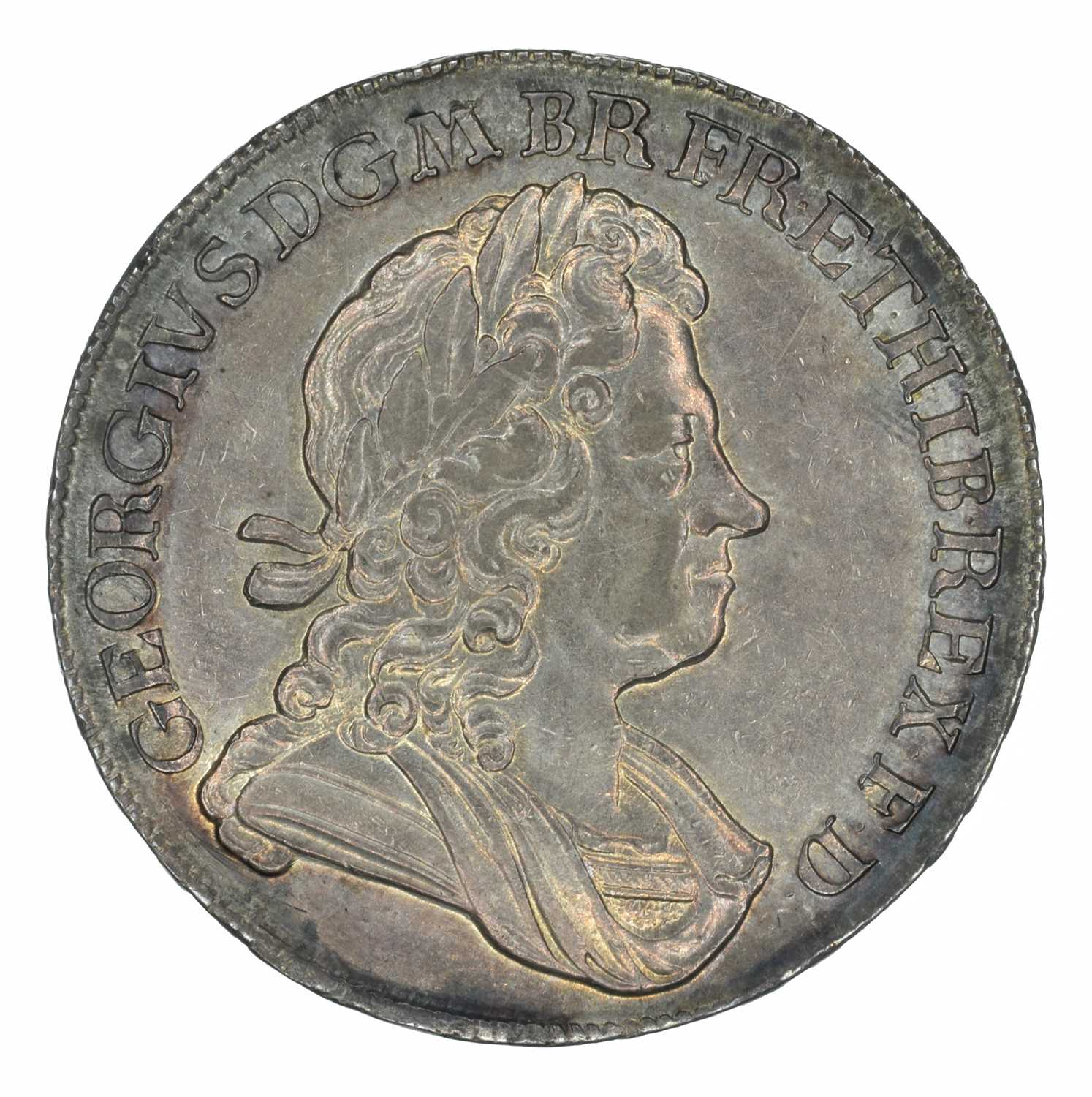 Lot 33 - King George I, Crown, 1716 SECVNDO.