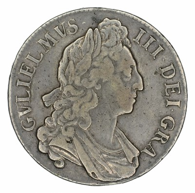 Lot 23 - King William III, Crown, 1696 OCTAVO.