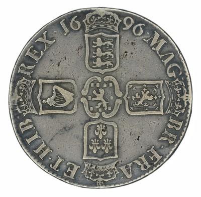 Lot 23 - King William III, Crown, 1696 OCTAVO.
