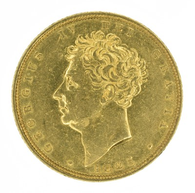 Lot 57 - King George IV, Sovereign, 1825.