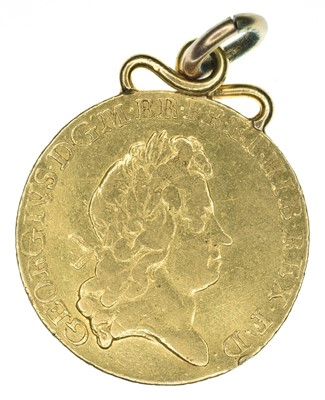 Lot 38 - King George I, Guinea, 1726, pendant mounted.