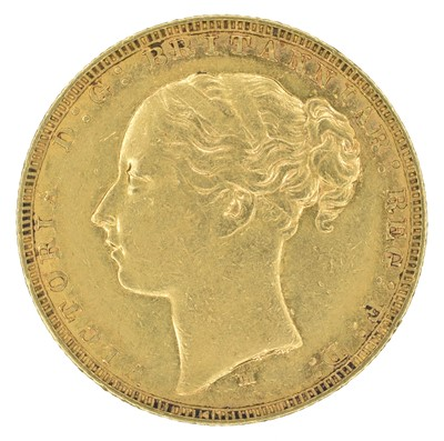 Lot 70 - Queen Victoria, Sovereign, 1881, Melbourne Mint.