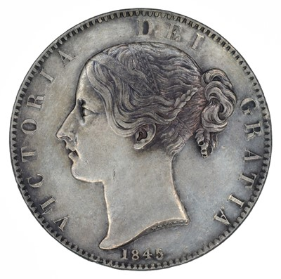 Lot 61 - Queen Victoria, Crown, 1845.