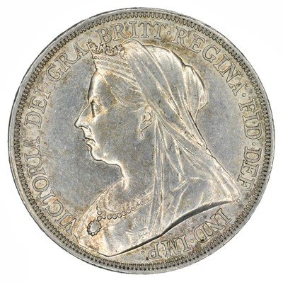 Lot 71 - Queen Victoria, Crown, 1893 and Double-Florin, 1890 (2).