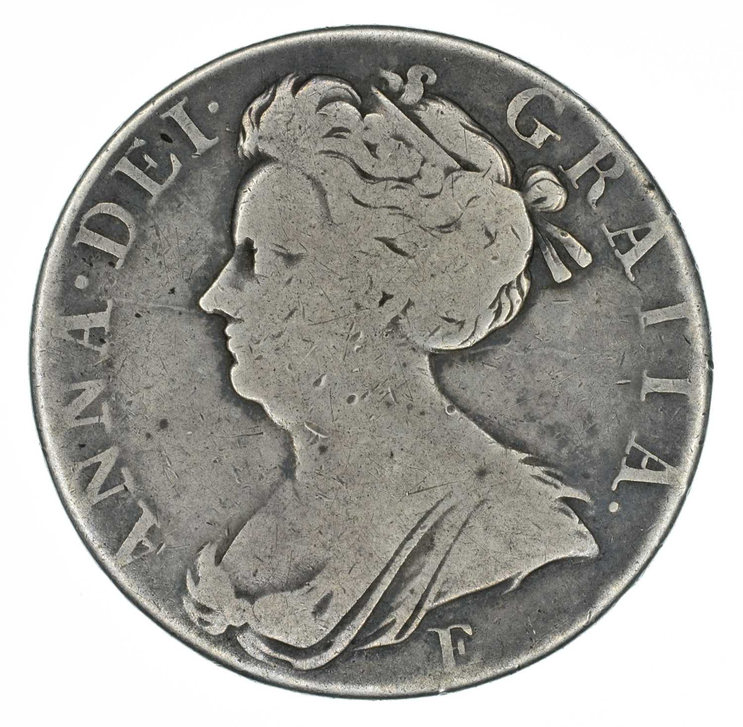 Lot 28 - Queen Anne, Crowns, 1707 SEXTO and 1708 SEPTIMO, Edinburgh (2).