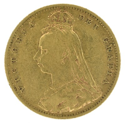 Lot 73 - Queen Victoria, Half-Sovereigns, 1893 M, 1894, 1901 (3).